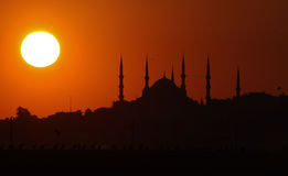 Sultanahmet Mosque. From Istanbul Turkey Stock Photography