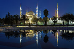 Sultanahmet Mosque (Blue Mosque) in early morning, Istanbul Stock Photos