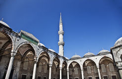 Sultanahmet mosque in the Istanbul. Turkey Royalty Free Stock Images
