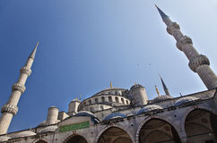Sultanahmet mosque in the Istanbul. Turkey Stock Images