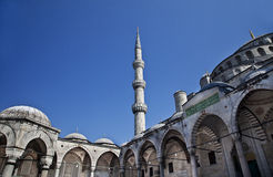 Sultanahmet mosque in the Istanbul. Turkey Stock Photos