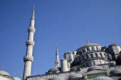 Sultanahmet mosque in the Istanbul. Turkey Stock Photo