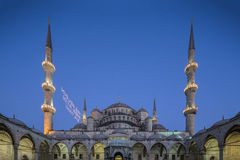 Sultanahmet Mosque in Istanbul, Turkey.  Stock Photography