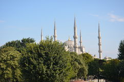 Sultanahmet mosque Royalty Free Stock Image