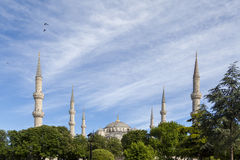 Sultanahmet mosque Stock Photography