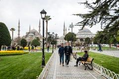 Sultanahmet neighborhood of Fatih, Istanbul, Turkey Royalty Free Stock Photography