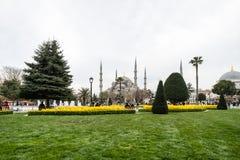 Sultanahmet neighborhood of Fatih, Istanbul, Turkey Royalty Free Stock Photo