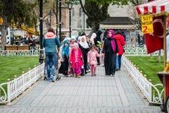 Sultanahmet neighborhood of Fatih, Istanbul, Turkey Stock Images