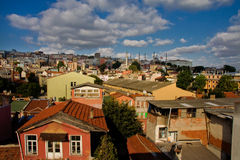 Sultanahmet roofs Stock Images