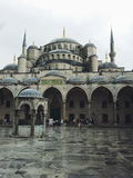 Sultanahmet Square and Blue Mosque royalty free stock image