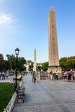 Sultanahmet Square a popular tourists area stock photos