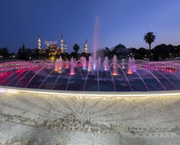 Sultanahmetmoskee in Istanboel, Turkije Royalty-vrije Stock Fotografie