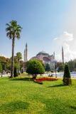Sultanahmetpark een populair toeristengebied Stock Afbeeldingen