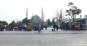 Sultanahmetvierkant een plaats stock video