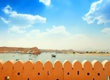 Sultanat av Oman, porten av Sur royaltyfri bild