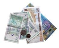 Sultanat des Oman-Bargeldes Stockbilder