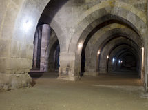 Sultanhani商队投宿的旅舍 图库摄影