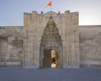 Sultanhani Caravansary Royalty Free Stock Image
