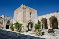 Sultanhani caravansary on Silk Road, Turkey Royalty Free Stock Photos