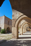Sultanhani caravansary at Turkey Royalty Free Stock Image