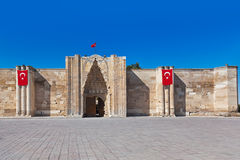 Sultanhani caravansary at Turkey Stock Photo