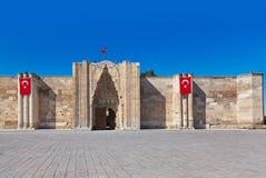 Sultanhani caravansary at Turkey Stock Photo