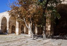 The Sultanhani Caravanserai, Aksaray, Turkey. Silk Road. Courtyard. The Sultanhani Caravanserai, Aksaray, Turkey. Silk Road. Courtyard Stock Images