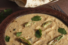 Sultani Dal is a variation of toordal from India Royalty Free Stock Photos
