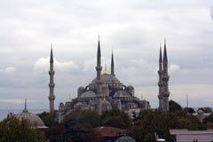 Sultano blu Ahmed della moschea di Costantinopoli Fotografia Stock