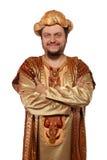 Sultano, costume di carnevale Fotografia Stock