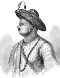 Sultano di Tipu illustrazione di stock