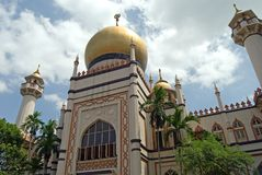 Sultans Mosque Royalty Free Stock Images