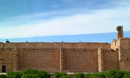 Sultans palace in Marrakech Stock Photography
