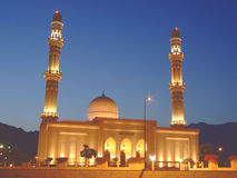 Sulthan Qaboos Mosque Dibba Royalty Free Stock Image