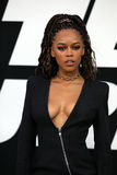 Sultry Actress Serayah McNeil Stock Photo