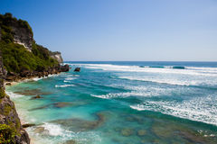 Suluban beach, Bali, Indonesia Stock Images