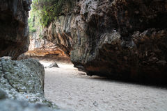 Suluban plaża Bali Indonezja Obrazy Stock
