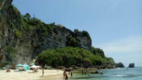 Suluban strand Fotografering för Bildbyråer