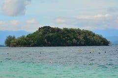 Sulug wyspa w Sabah, Malezja Obraz Royalty Free