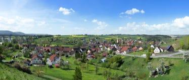 Sulz-Muehlheim, Niemcy w wiośnie Obraz Stock