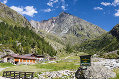 Sulztalalm in Austria, editorial Royalty Free Stock Photos