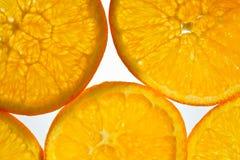 Sumário alaranjado da fruta Foto de Stock