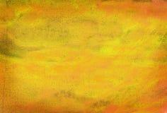 Sumário alaranjado pintado fotografia de stock royalty free