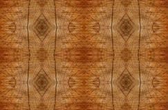 Sumário alinhado da madeira do teste padrão Imagens de Stock Royalty Free