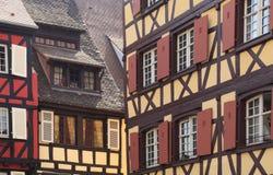 Sumário arquitectónico Alsatian Imagens de Stock Royalty Free