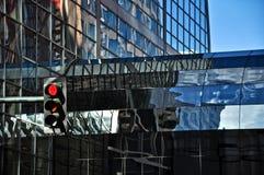 Sumário arquitetónico de arranha-céus urbanos Imagem de Stock