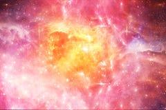 Sumário artístico Misty Galactic Artwork lisa colorido ilustração royalty free