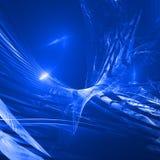 Sumário azul ilustração royalty free