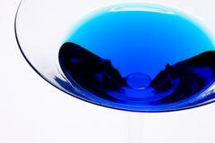 Sumário azul da bebida Imagens de Stock Royalty Free