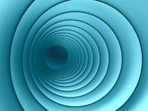 Sumário azul da câmara de ar Fotografia de Stock